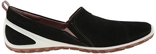 Ecco BiomLite - zapatillas de running de cuero mujer Negro (BLACK/WOODROSE59930)