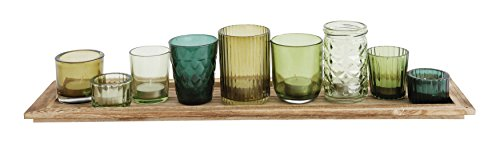 Creative Co Op DA6882 Green Votive