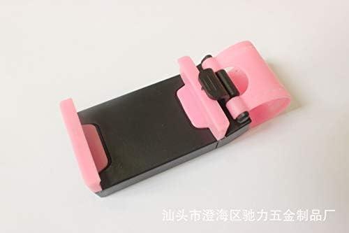 多機能車の電話ホルダーハンギングボタン車のステアリングホイール携帯電話ホルダーナビゲーション携帯電話ホルダー (Color : C)