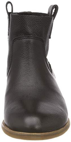 Black Botines 00 01 Femme Vespa Mestico Noir Oyster Buffalo qwtRYY