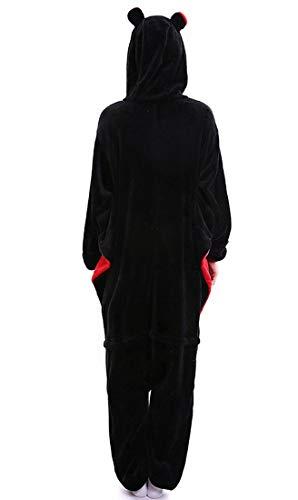 Halloween Pipistrello Animale Pigiama Unisex Pipistrello Carnevale Adulti Kigurumi Costume Cosplay Pq8XtPv