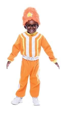 Yo Gabba Gabba Deluxe Dj Lance Rock Toddler Costume, Toddler 3/4