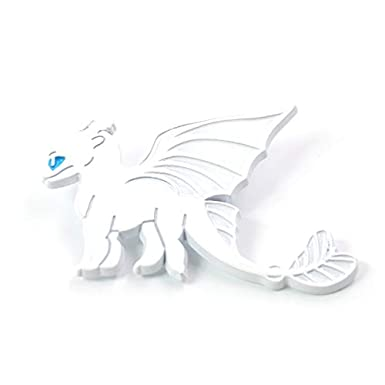 How to Train Your Dragon Pins Light Fury Night Fury Zinc Alloy Badges Pins Toothless Pins for Clothes Backpack