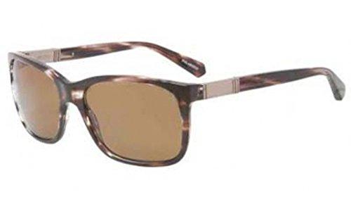 Giorgio Armani Mens Sunglasses (AR8016) Brown/Brown Acetate - Polarized - - Giorgio Armani Mens Sunglasses