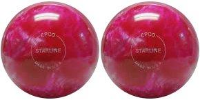 EPCO-Duckpin-Bowling-Ball-Starline-Hot-Pink-Pearl-2-Balls