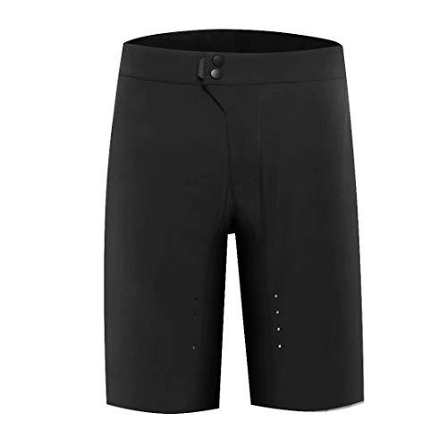 - Avantwolf Men's Baggy Cycling Shorts Breathable MTB Shorts for Sports(Black,3XL)