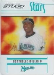 (2005 Studio Stars Baseball Card #17 Dontrelle Willis)