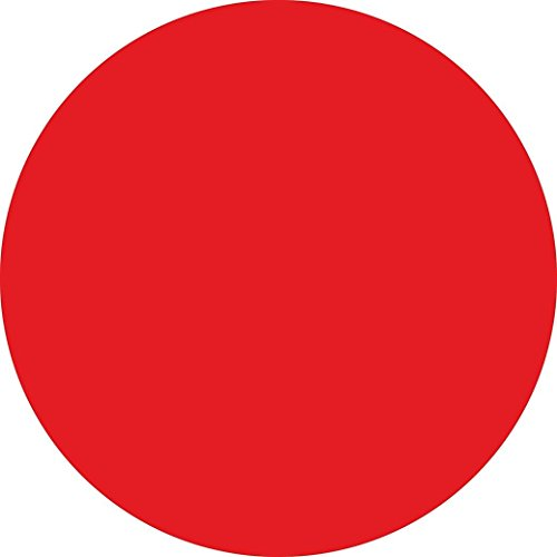 Price comparison product image Livoty Peel & Stick Calypso Dry-Erase Dots with Marker,  3-Count 13x13 inch (Red)