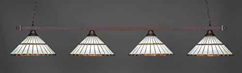 - Toltec Lighting 804-974 Billard Pendant