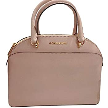 4340837b7e06 MICHAEL Michael Kors EMMY Women's Shoulder Handbag LARGE DOME SATCHEL  (Ballet)