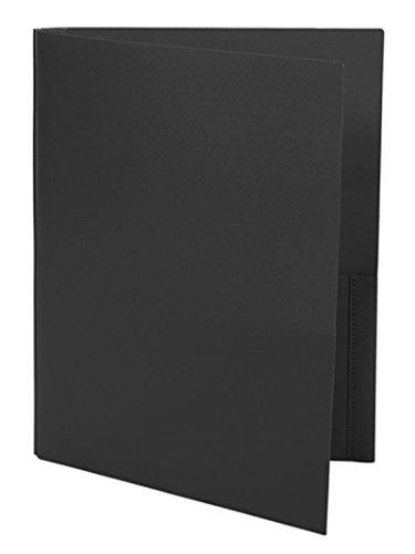 Ultra Pro - 10 Pack, BLACK 2-Pocket Folders