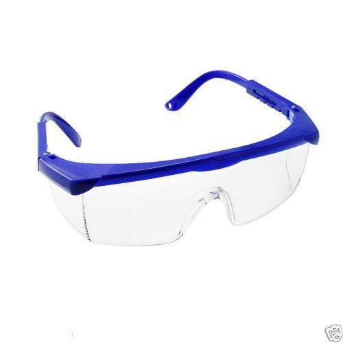 Aphrodite New Protective Eye Goggles Safety Anti-fog Glasses Blue Frame for Dentist