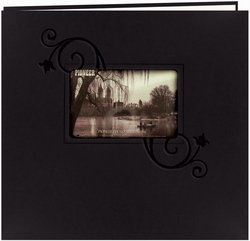 Pioneer - Embossed Leatherette Postbound Album With Window 1 by Pioneer (Image #1)