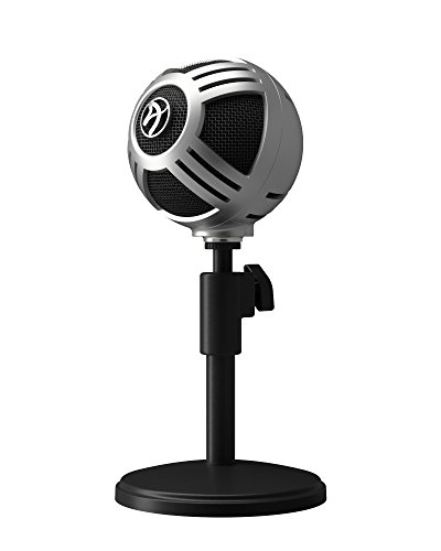 Technica Stand Microphone Audio Blues (Arozzi Sfera PRO USB Microphone for Gaming & Streaming, PC/Mac/Linux)