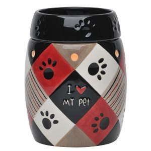 Paws Pet (Dog/cat) Authentic Scentsy Candle Wax Warmer (Limited Edition) by Scentsy