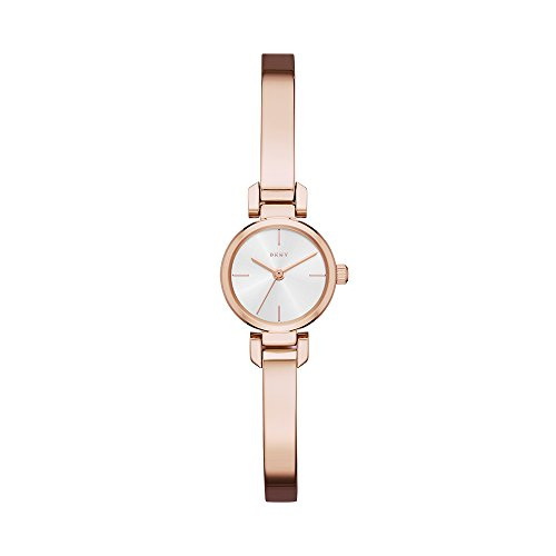 DKNY Women's 'Ellington' Quartz Stainless Steel Casual Watch, Color:Rose Gold-Toned (Model: NY2629)