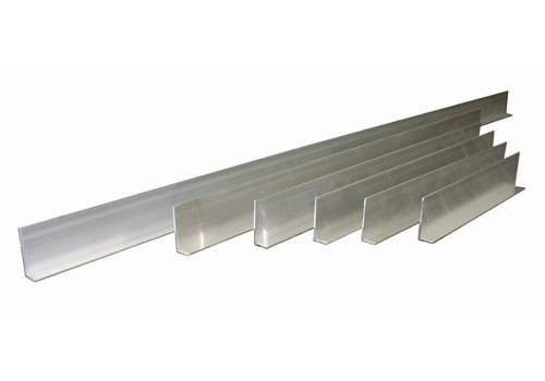 L-Shaped 6 Piece Aluminum Tile Screed/Straightedges Set by Kraft Tool