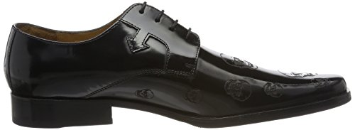 Lasercut Hamilton New 5 Homme Skull Derbys Black Noir Rush Black Hrs Melvin Mark amp; 6Fq1RvR