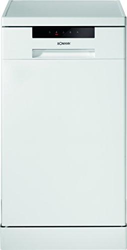Bomann GSP 849 Geschirrspüler / A++ / 211 kWh / Jahr / 10 MGD / L / Top Control mit LED-Display / weiß