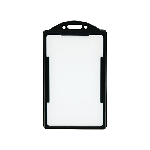- ADVANTUS ID Card Holder, Vertical, Holds up to 2-1/8