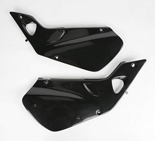 (UFO HO03602001 Replacement Plastic (FOR HONDA SD CVR CR250 97-99 BLACK))