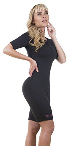 2cbbcfb9b6 Neo Sweat Exercise Neoprene Sauna Suit Enhance Workout Heat Weight Loss  Large