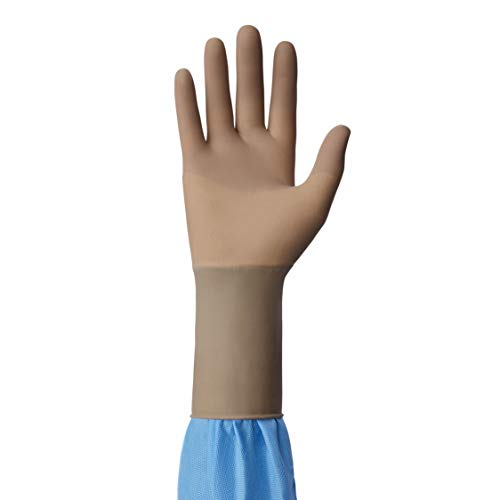 Medline MSG2680 Triumph Ortho with Aloe Sterile and Powder-Free Latex Surgical Glove, Size 8, Brown (Pack of 200) by Medline (Image #4)
