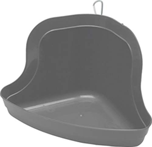 Pan Litter Ferret Corner - Kaytee Tall Corner Litter Pan with Quick Lock, Color Varies