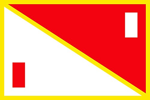 Zaria Emirate in Nigeria | Landscape Flag | 1.35m² | 14.5sqft | 90x150cm | 3x5ft - 100% Made in Germany - Long Lasting Outdoor Flag ()