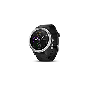 Garmin vivoactive 3 GPS Smartwatch Black & Stainless