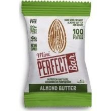 Perfect Bar Organic Mini Almond Butter Bar, 0.74 Ounce -- 20 per (Perfect Food Bar)