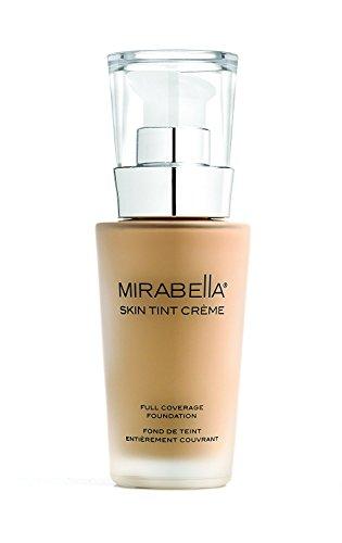 Mirabella Skin Tint Cr me Full Coverage Liquid Mineral Foundation – III W, 30ml 1.0 fl.oz