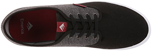 Emerica WINO 6101000088, Scarpe da skateboard uomo Black/Grey/Red