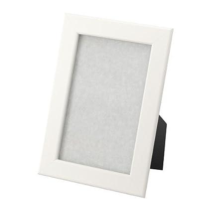 Ikea Fiskbo Cornice Plastica Bianco 10 X 15 Cm Amazonit Casa E