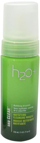 H2O Plus Sea Clear Mattifying Cleansing Mousse-5 oz.