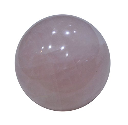 Aatm Reiki Energized Rose Quartz Ball Stone Of Love & Relationship by Aatm (Image #4)