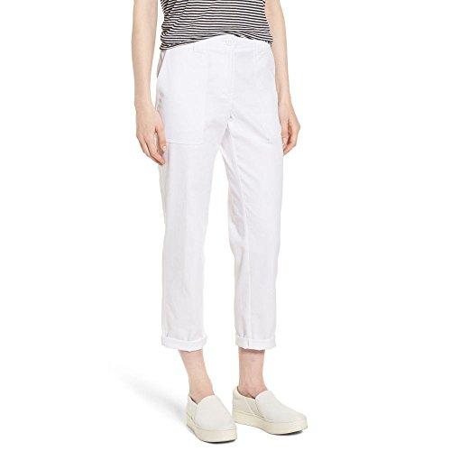 ディスク太鼓腹系統的(ノードストローム) NORDSTROM SIGNATURE レディース ボトムス?パンツ クロップド Stretch Cotton & Linen Ankle Pants [並行輸入品]