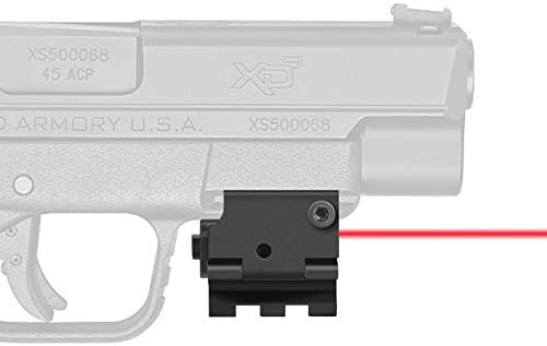 Mini Airsoft Laser Red Dot Sight Scope Picatinny Rail 20mm for Pistol Gun Rifle for sale online