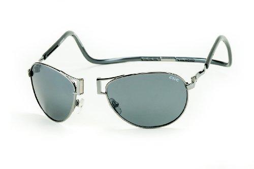 Clic Magnetic XXL Aviator Metal Polarized - Sunglasses Clics