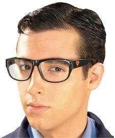 [Clark Kent Eyeglasses] (Superman Clark Kent Halloween Costume)