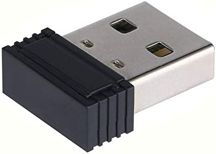 150Mbps Adaptador inal/ámbrico Mini USB WiFi 150M Tarjeta LAN de Red 802.11n Negro Adaptador inal/ámbrico WiFi 150M g//b Soporte STBC Rango extendido