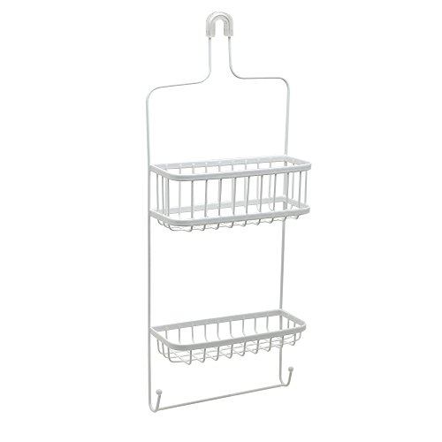 Learn More About Zenna Home Over-The- Showerhead Shower Caddy, 1, White