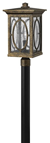 Hinkley 1499AM Transitional One Light Post Top from Randolph collection in Bronze/Darkfinish, by Hinkley