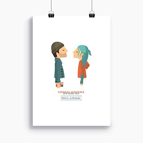 Amazoncom Printeternal Sunshine Of The Spotless Mind