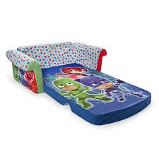 Amazon.com: Flip Open Sofa for Kids 2 in 1 Childrens Furniture PJ Masks Toddlers Foam Lounger Bed Couch (2-in-1): Kitchen & Dining