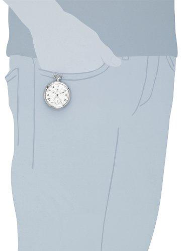 Charles-Hubert-Paris-3912-W-Premium-Collection-Stainless-Steel-Pocket-Watch
