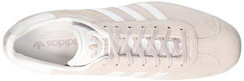 adidas Unisex-Erwachsene Gazelle Low-Top Rosa (Grigio Purhie/blanco/dormet)