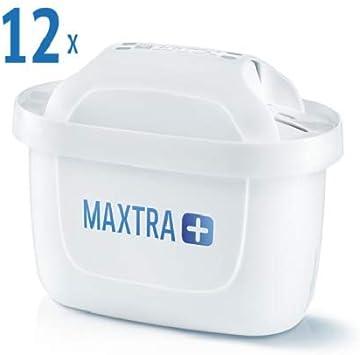 Brita Filtro MAXTRA +, Blanco, Paquete de 12: Amazon.es: Hogar