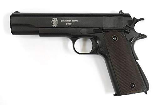 BELL M1911A1 S&W刻印 ガバメント ブローバック ガスガン メタルスライド標準装備 No.723 B07RY86YGC
