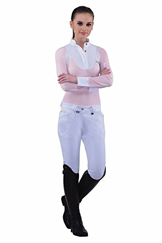 Equine Couture Ladies Sarah Silicone Knee Patch Breeches